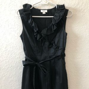 Loft black Dress size 4 petite